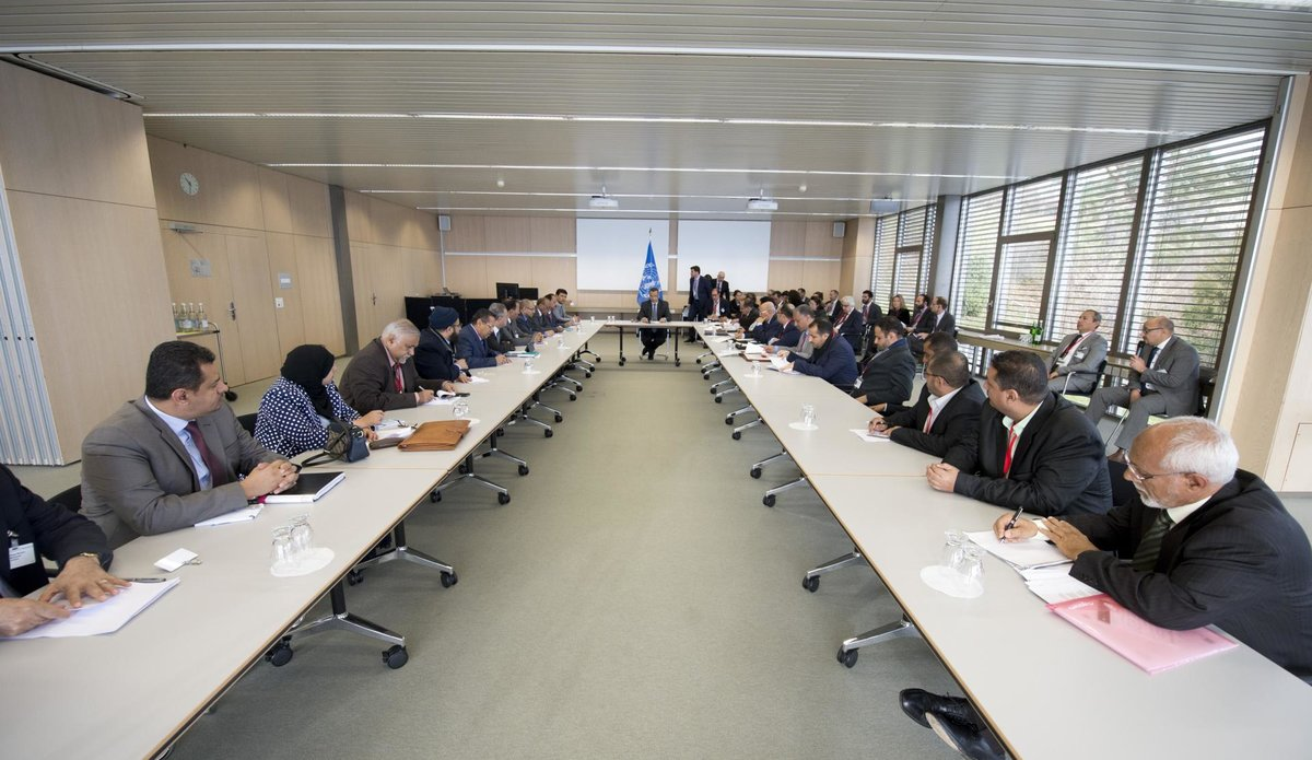 Yemen Peace Talks, Geneva, December 2015